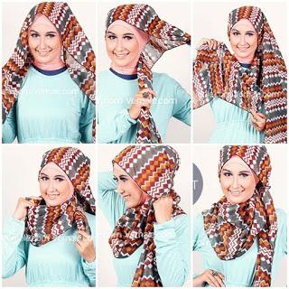 Ayo Coba Hijab Modern Pashmina yang Keren Banget
