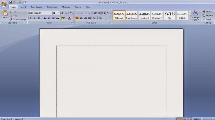 Membuat Garis Tepi di Microsoft Word Dengan Mudah dan Cepat